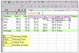 course list excel 202 vlookup