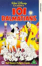 101 dalmatians 1961 vhs rod taylor betty lou gerson cate