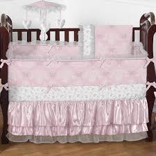 Bedding Sets For Nursery by Bed U0026 Bedding Sweet Jojo Designs Chevron 9 Piece Crib Bedding Set