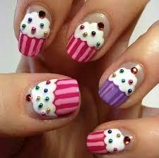 delicious cupcake nail art nail design nail art nail salon