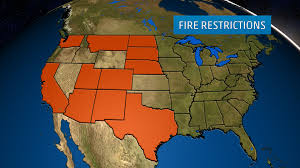 Wildfire Map America by Wildfire Safety U0026 Preparedness Weather Com