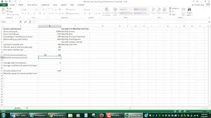 Rental Income Expenses Spreadsheet Step By Step Video Of Monthly Cash Flow Spreadsheet For Mat 105