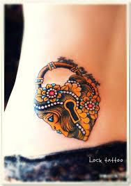 Locket Tattoo Ideas Best 25 Padlock Tattoo Ideas Only On Pinterest Heart Locket