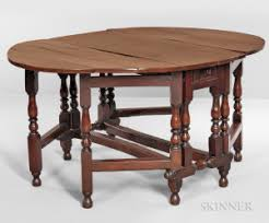 Yew Side Table Search All Lots Skinner Auctioneers