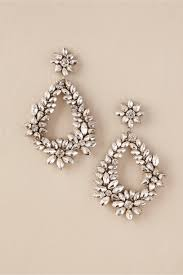 Chandelier Earings Brigit Chandelier Earrings Silver In Bhldn