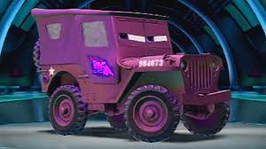 Custom Paint Color Sarge Disney Cars Color Changers Custom Paint Pixar Cars 2 Video