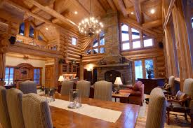 log cabin open floor plans gorgeous open floor plan homes room bath house plans 17430