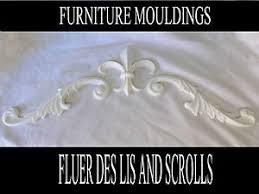 Fleur De Lis Headboard Large Scrolls And Fleur De Lis Decorative Mouldings Bed Headboard