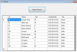 exporting datatable to excel in c using interop