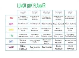 lunch box planner template beccis domestic bliss lunch box planner free printable