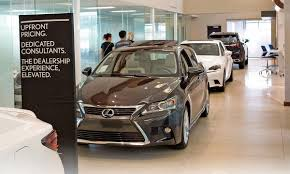 lexus of toronto used cars lexus shoppers warm to no haggle model