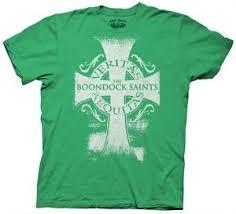 boondock saints movie veritas aequitas cross logo t shirt size