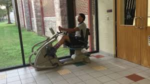 Rotating Stair Machine by Seated Stair Stepper Warmup Exercise Youtube