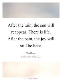 after the the sun will reappear there is after the