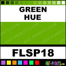 green cool color neon fabric textile paints flsp18 green paint