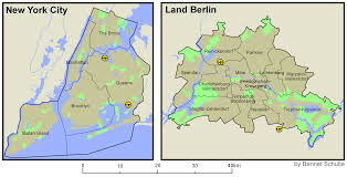 Map Size Comparison File Comparison Nyc Berlin Png Wikimedia Commons