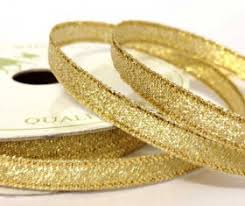 gold metallic ribbon metalic ribbon tailored occasions