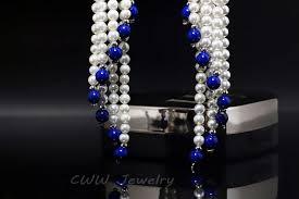 Chandelier Pearl Earrings For Wedding Cwwzircons Dangling Tassel Shape Zircon Stone Pave Long Chandelier