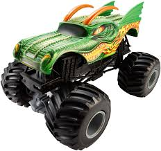 scooby doo monster jam truck toy wheels monster jam 1 24 scale dragon die cast vehicle