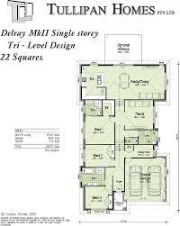mkii tri level upslope design home design tullipan homes