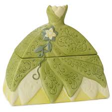 the princess and the frog dress shaped treasure box