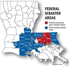Louisiana Map Of Parishes by 20 Parishes Now Covered By Federal Disaster Declaration State