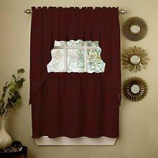 Tuscan Valance Wine Curtains Ebay