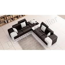 canapé d angle pour petit salon canape cuir vachette canapé en cuir 3