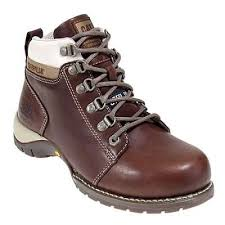 womens steel toe boots near me caterpillar 89674 s steel toe chocolate carlie hiking boot