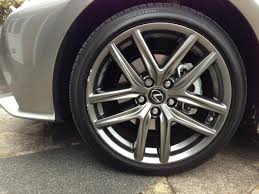 lexus is300h f sport mpg kerbed the f sport shoes happily now restored lexus is 300h