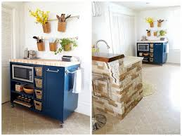 kitchen captivating diy kitchen island cart small rolling diy
