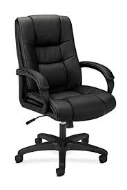 amazon com basyx by hon executive desk chair high back