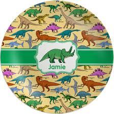 personalized melamine platter dinosaurs melamine plate personalized youcustomizeit