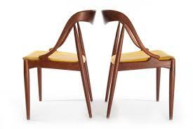 danish modern dining chair set danish teak classics