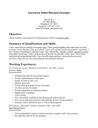 Life Insurance Resume Samples by Insurance Resumes Templates Contegri Com