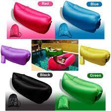inflatable sleeping lay bag hangout instant chair couch hammock