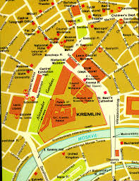 moscow russia map map of central moscow russia