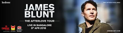 bookmyshow dhule james blunt the afterlove tour live in bangalore online tickets at
