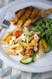15 minute easy greek pasta salad recipe jessica gavin