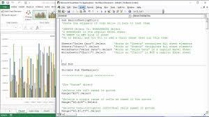 microsoft excel essentials level 3 vba programming unleash