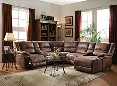 Reclining Sectional Sofas by Picture Of Stetson Ridge Brown 6 Pc Power Reclining Sectional From