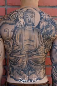 budha back tattoo tattoomagz