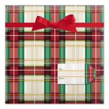 christmas plaid wrapping paper christmas rolled wrapping paper current catalog