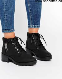 womens boots look s look lace up work boots black shoes