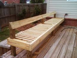 Decks With Benches Built In Natural State Treehouses Inc Floating Deck