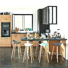 chaise pour ilot de cuisine table haute ilot central cheap cuisine ilot avec evier denis