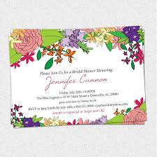 Butterfly Garden Layout by Garden Bridal Shower Invitations Kawaiitheo Com