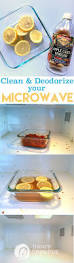 how to clean how to clean and deodorize a microwave today u0027s creative life