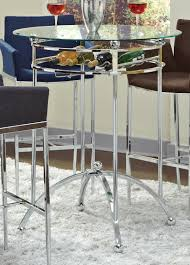 Bar Top Table Sets Coaster Fine Furniture 120335 Modern Bar Height Table With Glass Top