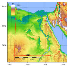 Physical Africa Map by Large Physical Map Of Egypt Egypt Africa Mapsland Maps Of